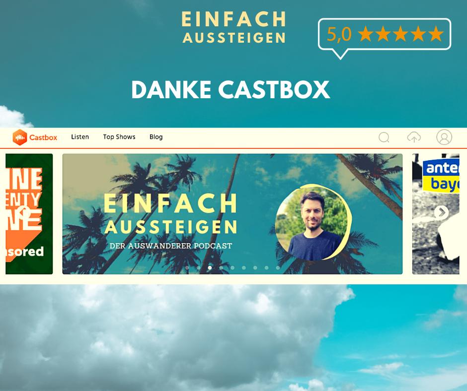 Castbox empfiehlt EINFACH AUSSTEIGEN den Auswanderer Podcast mit Nicolas Kreutter